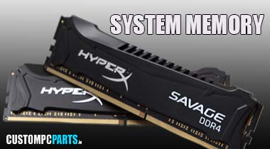 DDR3 & DDR4 PC SYSTEM MEMORY FROM IRELANDS COMPONENT SUPERSTORE www.CUSTOMPCPARTS.ie